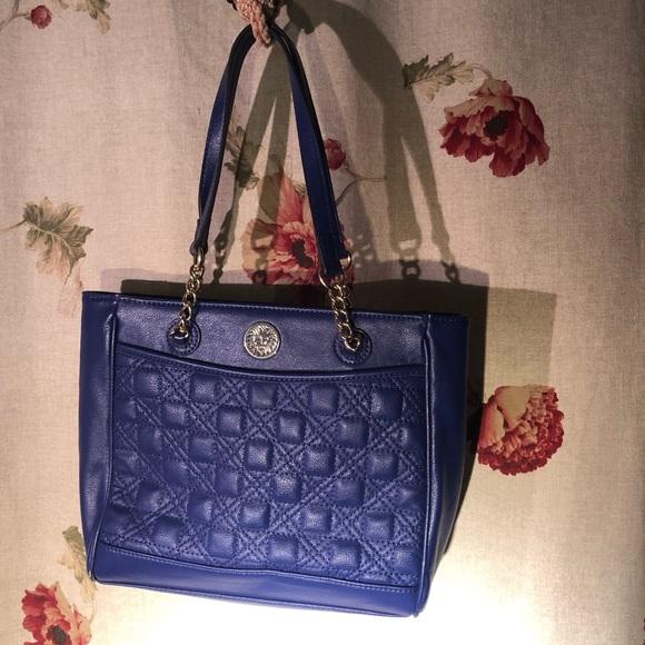 Anne Klein Handbags - Anne Klein Blue Handbag